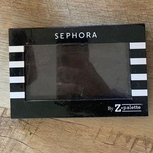 Z Palette X Sephora empty makeup palette. Size: S